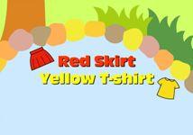 빨간 치마, 노란 셔츠 (영어)